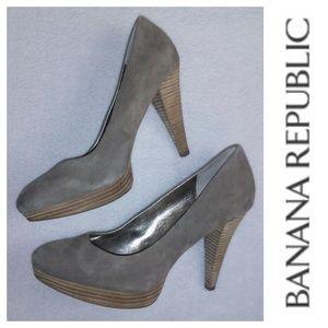 Banana Republic Suede Pumps 9M
